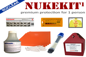 radiation protection emergency kits