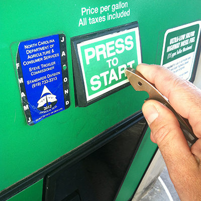 Gas Pump-copper-shark
