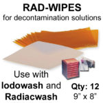Rad Wipes for decontamination solutions - Pack of 12