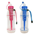 pink blue sports water bottles 20oz seychelle