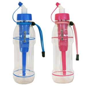 pink blue extreme sports water bottles 20oz seychelle