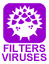 filters viruses from water